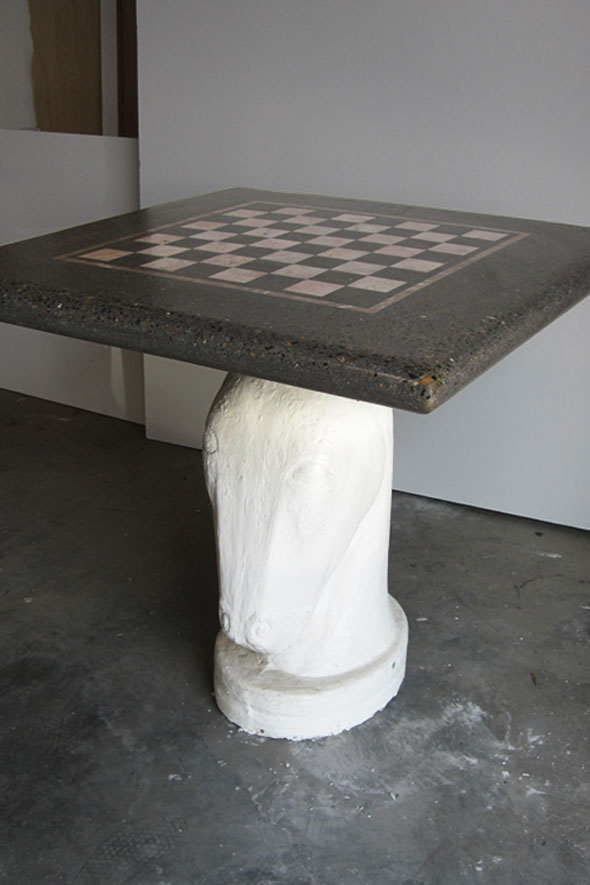 Concrete Chess Tables