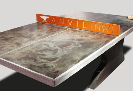 concrete ping pong table. Customize Your Order Concrete Ping Pong Table