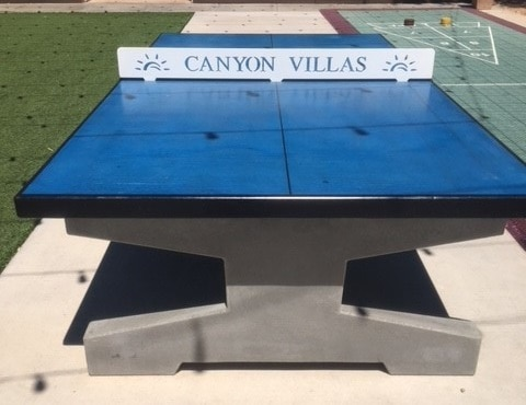 Every Uptown Table Is Customized To Order. Choose From A Variety Of Options  Including The Color For Tops And Legs, The Net Design And Color, ...